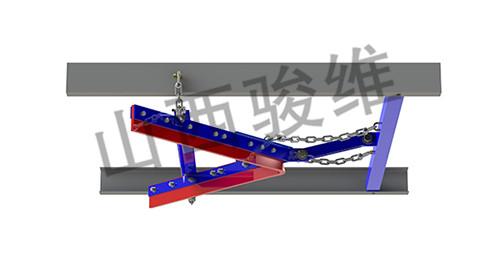 山西亚博体育官方网址回程空段V字形清扫器SXJW-V
